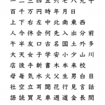 Pdf japanese kanji
