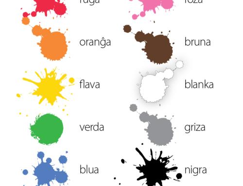 Esperanto Colors – Koloroj en Esperanto